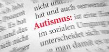 Abbildung Schriftzug Autismus