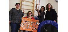 ild mit vier Mitarbeiterinnen des ATZ Lippstadt