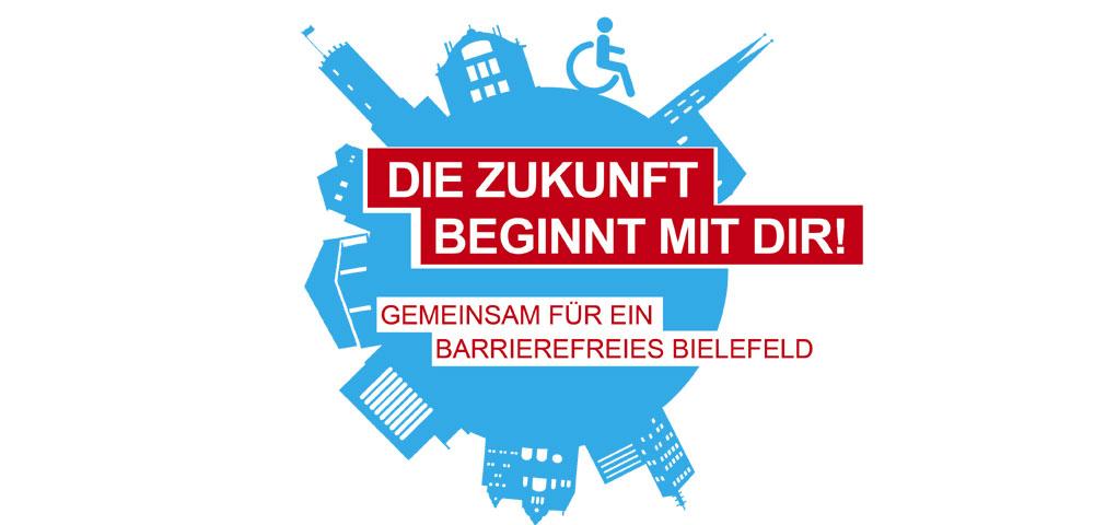 """Logo Europäischer Protesttag 2019 mit Schriftzug """"Die Zukunft beginnt mit Dir!"""""""