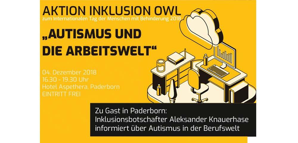 Bild Aktion Inklusion OWL 2018