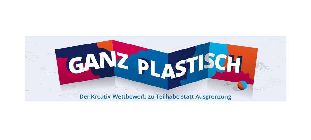 """Logo Wettbewerb Lebenshilfe """"Ganz Plastisch"""""""