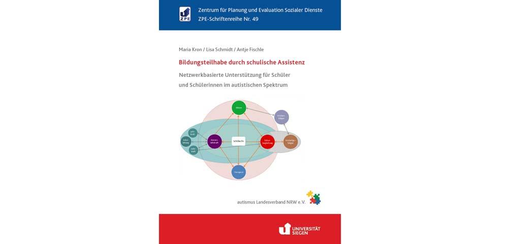 Titelblatt Buch Bildungsteilhabe durch schulische Assistenz