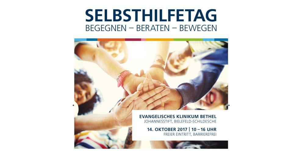 Plakat Selbsthilfe-Tag im EvKB
